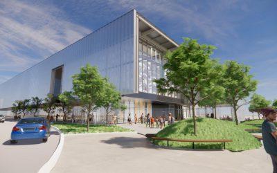 Construction Starts on Kiewit Luminarium